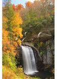 Looking Glass Falls, Blue Ridge Parkway, Brevard, North Carolina