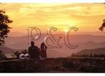Sunset, Confederate Breastworks Overlook, West Augusta, Virginia