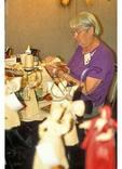 Making Corn Husk Dolls, The Folk Art Center, Blue Ridge Parkway, Asheville, North Carolina