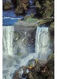 Cave of the Wind, American Falls, Niagara Falls, Seen from Skylon Tower, Niagara Falls, Ontario, Canada