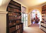 Book Room Annex, Looking Into Cabinet, Monticello, Charlottesville, Virginia