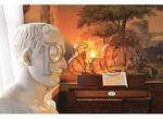 Bust of Napoleon, Withdrawing Room, Ash Lawn ñ Highlands, Charlottesville, Virginia