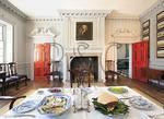 Dining Room, Historic Carlyle House, Alexandria, Virginia