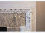 Detail, Dining Room Fireplace, Historic Carlyle House, Alexandria, Virginia