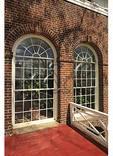 Piazza and Venitian Porch, Monticello, Charlottesville, Virginia