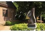 Squirrel Ornament, Garden, Adam Thoroughgood House, Virginia Beach, Virginia