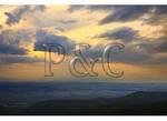 Sunset over the Shenandoah Valley, Shenandoah National Park, Virginia