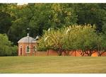 Deer in Garden at Birthplace of Robert E. Lee - Stratford Hall, Montrose, Virginia