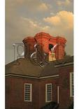 Chimneys on the Birthplace of Robert E. Lee - Stratford Hall, Montrose, Virginia