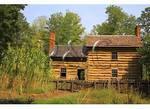 1800's Farm House, Virginiaís Explore Park, Blue Ridge Parkway, Roanoke, Virginia