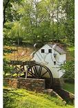 1800's Grist Mill, Virginiaís Explore Park, Blue Ridge Parkway, Roanoke, Virginia
