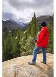 Dream Lake Trail, Longs Peak in Distance, Rocky Mountain National Park, Estes Park, Colorado