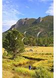 Fishing in Moraine Park, Rocky Mountain National Park, Estes Park, Colorado