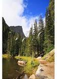 Dream Lake Trail, Rocky Mountain National Park, Estes Park, Colorado