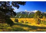 Long's Peak, Seen From Moraine Park, Rocky Mountain National Park, Estes Park, Colorado