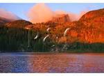 Sunrise at Bear Lake, Rocky Mountain National Park, Estes Park, Colorado