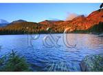 Sunrise at Bear Lake, Rocky Mountain National Park, Estes Park, Colorado
