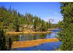 Fisherman, Firehole River, Yellowstone National Park, Wyoming