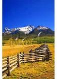 Ranch, Sneffels Range, Last Dollar Road, Telluride, Colorado