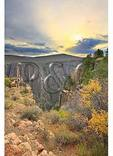 Sunrise, South Rim of Canyon, Black Canyon of the Gunnison National Park, Montrose, Colorado