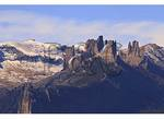 The Castles, Seen From Ohio Creek Pass, Gunnison, Colorado