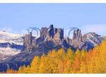 The Castles, Seen from, Ohio Creek Pass, Gunnison, Colorado