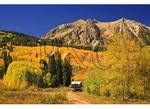 Camper, East Beckwith Mountain, Kebler Pass, Crested Butte, Colorado