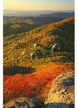 Sunset On Sharp Top, Peaks of Otter, Blue Ridge Parkway, Virginia