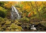 Crabtree Falls, Crabtree Meadows, Blue Ridge Parkway, North Carolina