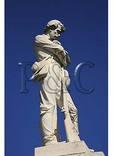 Statue, Confederate Cemetery, Mount Jackson, Virginia