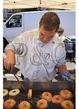 Cooking Donuts, Apple Festival, Mount Jackson, Virginia