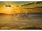 View of Browntown, Shenandoah National Park, Virginia
