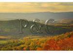 View of Browntown and Shenandoah River, Shenandoah National Park, Virginia