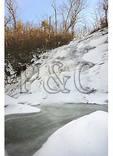 Frozen Crabtree Falls, Blue Ridge Parkway, Virginia