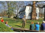 Ranger Presentation, Historic Moore House, Yorktown Battlefield, Colonial National Historical Park, Virginia
