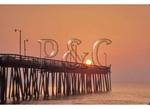 Sunrise at Virginia Beach Pier, Virginia Beach, Virginia