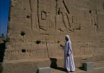 Egyptologist explains relief of Cleopatra and Caesarion at Temple of Dendara