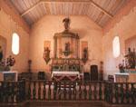 Altar and reredos, Mission San Antonio de Padua