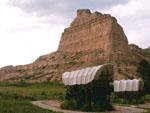 Conestoga Wagons, Scotts Bluff, Nebraska