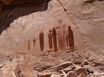 Barrier Canyon Style Pictographs, Horseshoe Canyon, Canyonlands National Park