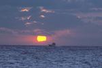 Sunrise, Fishing Boat
