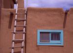 Blue Window and Ladder, Taos Pueblo