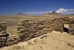Guadalupe Ruin, Cerro Cochino and Cabazon Peak