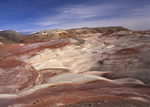 Bentonite Hills, South Desert, Capitol Reef National Park