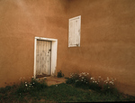 Courtyard, Truchas, New Mexico, Church