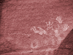 Pictographs, Canyon de Chelly National Monument
