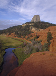 Devil's Tower, Belle Fourche River, Wyoming