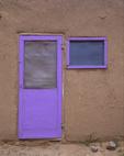 Purple Door, Taos Pueblo