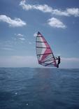 Wind Surfing, Jupiter, Florida