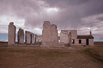 Hospital Ruins, Fort Laramie National Historic Site
